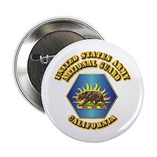 "Army National Guard - California 2.25"" Button"