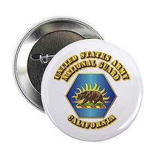 "Army National Guard - California 2.25"" Button (10"