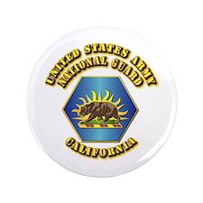 "Army National Guard - California 3.5"" Button (100"
