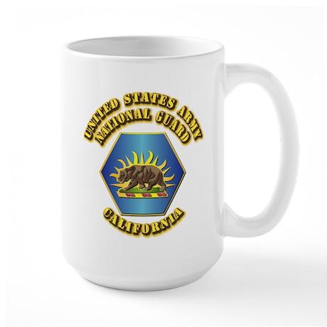 Army National Guard - California Large Mug