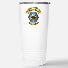 Army National Guard - California Travel Mug