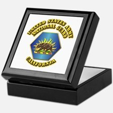 Army National Guard - California Keepsake Box