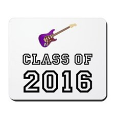 Class Of 2016 Guitar Mousepad