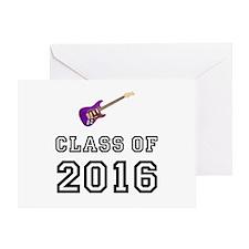 Class Of 2016 Guitar Greeting Card