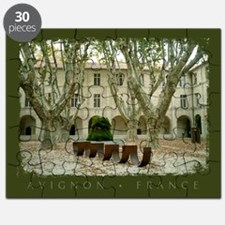 Avignon Courtyard Puzzle