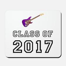 Class Of 2017 Guitar Mousepad