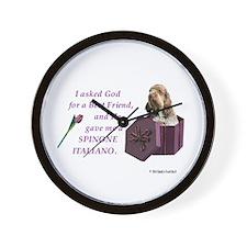 Unique Spinone Wall Clock