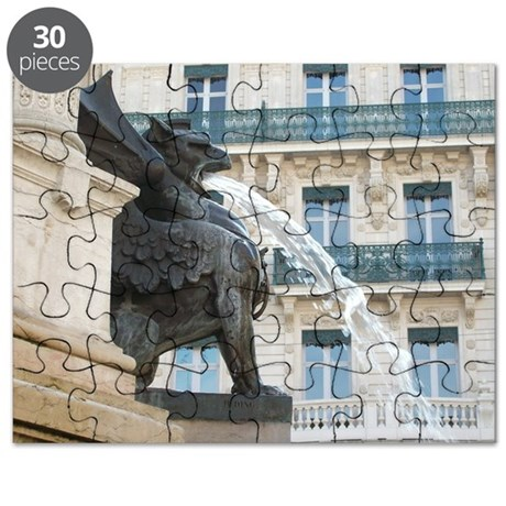 Gargoyle Fountain Puzzle