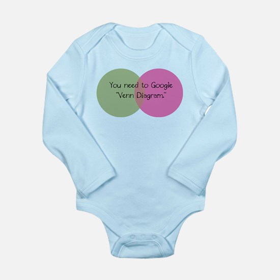 King lab Long Sleeve Infant Bodysuit