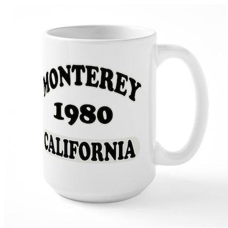 Monterey,Ca Large Mug