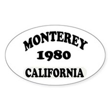 Monterey,Ca Decal