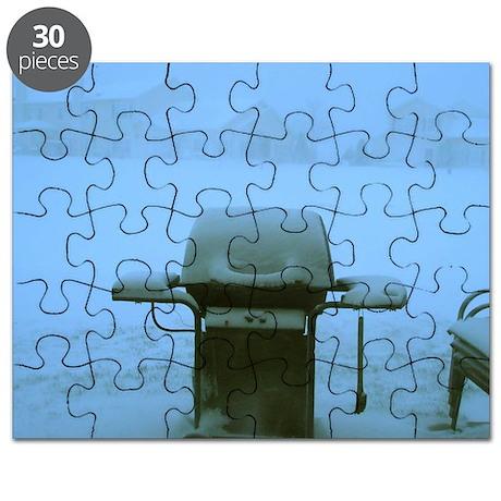 Snow Barbecue Puzzle