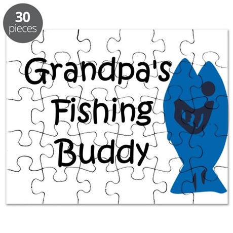 Grandpa's Fishing Buddy Puzzle