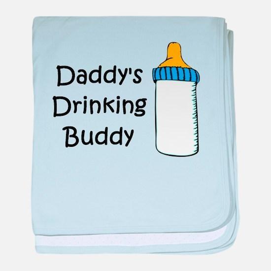 Daddy's Drinking Buddy baby blanket