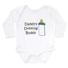 Daddy's Drinking Buddy Long Sleeve Infant Bodysuit