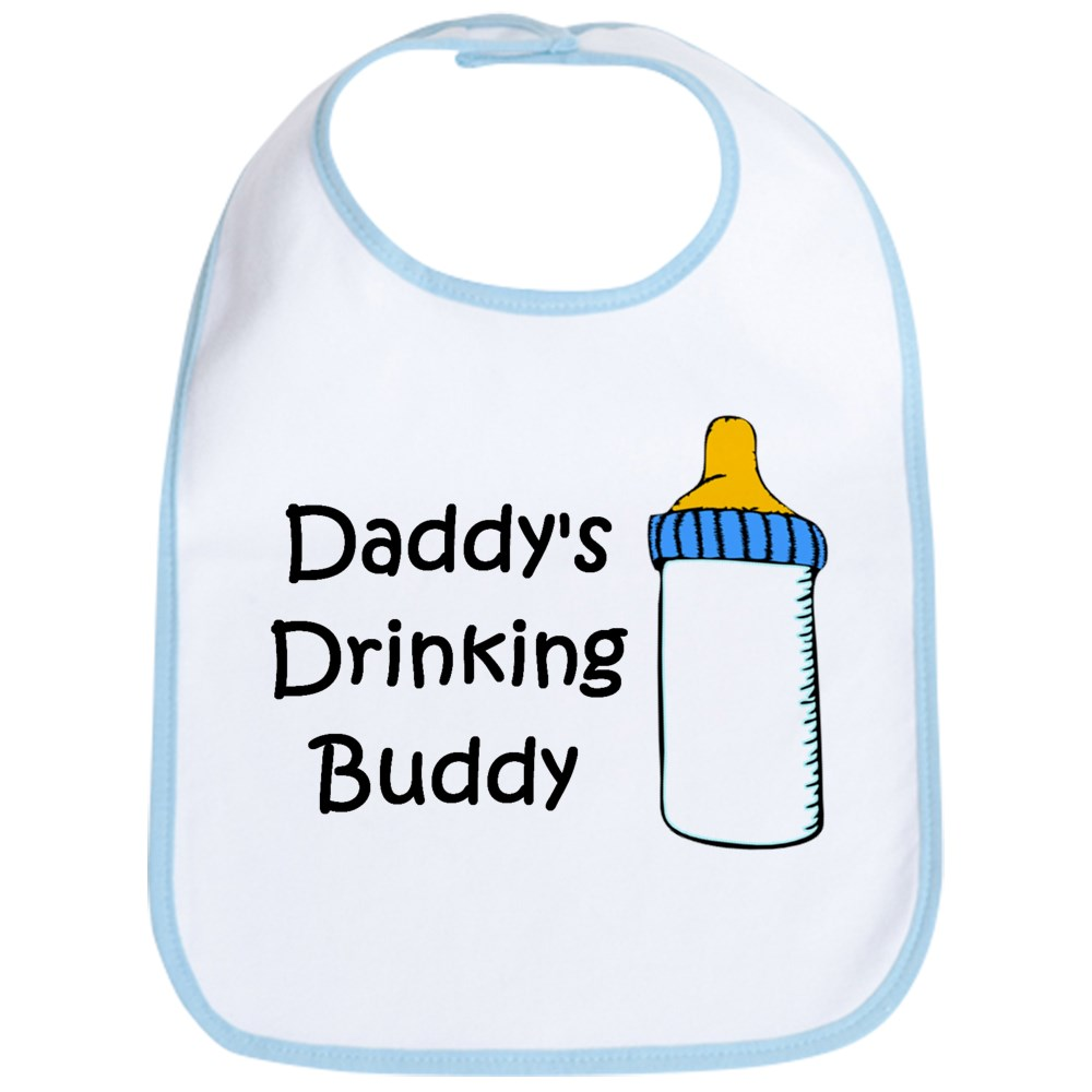 CafePress Daddy's Drinking Buddy Bib