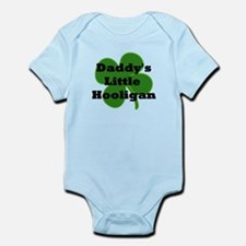 Daddy's Hooligan Shamrock Infant Bodysuit