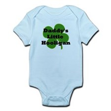 Daddy's Hooligan Shamrock Onesie