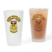 Army National Guard - Colorado Drinking Glass