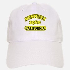 Monterey,Ca Baseball Baseball Cap
