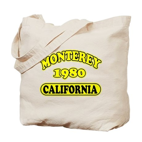 Monterey,Ca Tote Bag