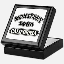 Monterey,Ca Keepsake Box