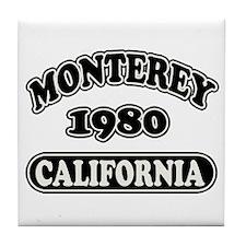 Monterey,Ca Tile Coaster