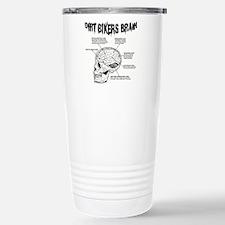 Dirt Bikers Brain Travel Mug