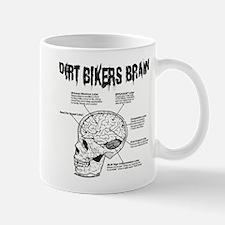 Dirt Bikers Brain Mug