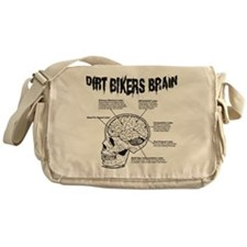 Dirt Bikers Brain Messenger Bag