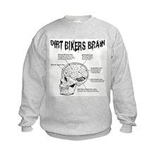 Dirt Bikers Brain Sweatshirt