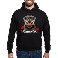 Love Rottweilers Hoodie