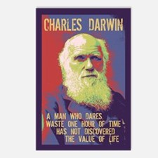 Darwin- Wasting Time Postcards (Package of 8)