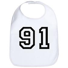 Number 91 Bib