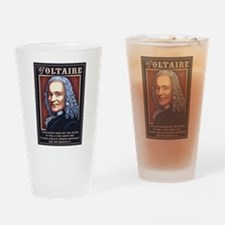 Voltaire - Prayer Drinking Glass