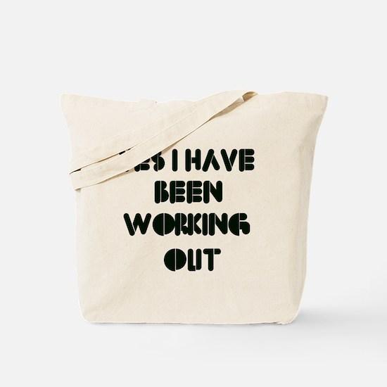 Funny gym designs Tote Bag