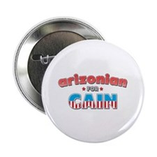 "Arizonian for Cain 2.25"" Button"