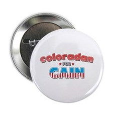 "Coloradan for Cain 2.25"" Button"