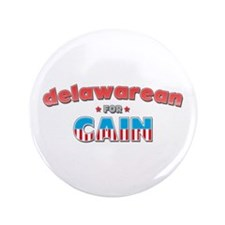 """Delawarean for Cain 3.5"""" Button (100 pack)"""