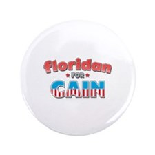 "Floridan for Cain 3.5"" Button (100 pack)"