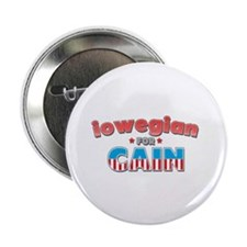 "Iowegian for Cain 2.25"" Button"