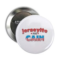 "Jerseyite for Cain 2.25"" Button (100 pack)"