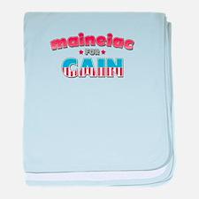 Maineiac for Cain baby blanket
