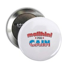 "Malihini for Cain 2.25"" Button"