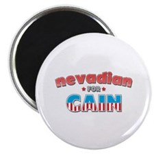 "Nevadian for Cain 2.25"" Magnet (100 pack)"