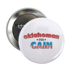 "Oklahoman for Cain 2.25"" Button"