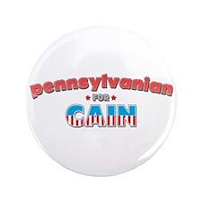 """Pennsylvanian for Cain 3.5"""" Button"""