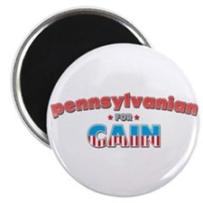 "Pennsylvanian for Cain 2.25"" Magnet (10 pack)"