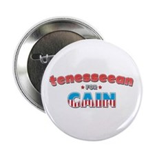 "Tenesseean for Cain 2.25"" Button"