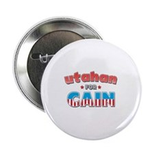 "Utahan for Cain 2.25"" Button"